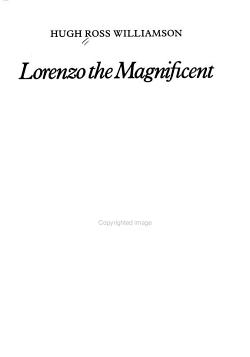 Lorenzo the Magnificent PDF