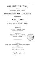 Gas manipulation  enlarged by W T  Sugg PDF