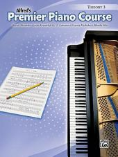 Premier Piano Course: Theory Book 3
