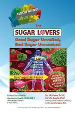 Good Sugar, Bad Sugar, Recipe for Health