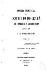 Revista do Instituto do Ceará: Volume 9