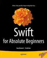 Swift for Absolute Beginners PDF