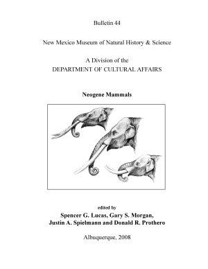 Neogene Mammals PDF