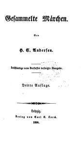 Gesammelte Märchen: Vollständige vom Verfasser besorgte Ausgabe