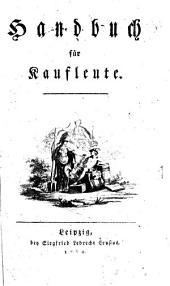 Handbuch für Kaufleute: Band 1