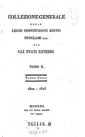 Collezione Generale delle Leggi Costitutuzioni Editti Proclami