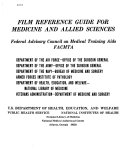 Film Reference Guide for Medicine and Allied Sciences PDF