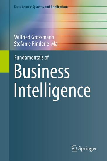 Fundamentals of Business Intelligence PDF