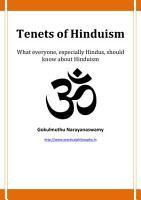 Tenets of Hinduism PDF