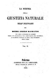 La scienza della giustizia naturale tra privati: 2