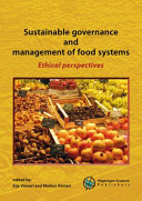Sustainable Governance and Management of Food Systems
