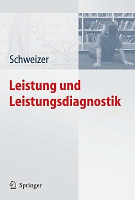 Leistung und Leistungsdiagnostik PDF