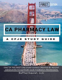CA Pharmacy Law