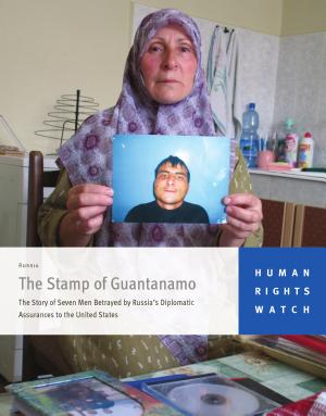 Russia  the Stamp of Guantanamo