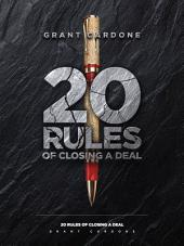 20 Rules of Closing a Deal
