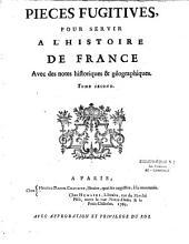 Pièces typiques pour servir à l'histoire de France