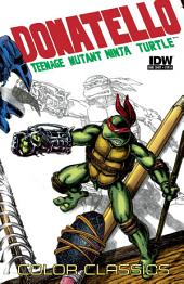 Teenage Mutant Ninja Turtles: Color Classics - Donatello Micro Series #3