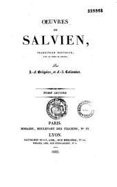 Oeuvres de Salvien. Traduction nouvelle, avec le texte en regard