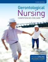 Gerontological Nursing PDF