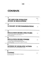Regulatory Reform and Congressional Review of Agency Rules PDF
