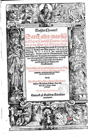 Basler Chronik PDF