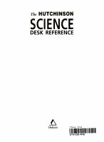 The Hutchinson Science Desk Reference PDF