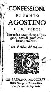 Confessioni di Santo Agostino libri dieci