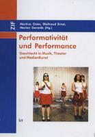 Performativit  t und Performance PDF