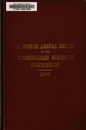 Annual Report of the Board of Metropolitan Sewerage Commissioners: Volume 11