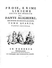 Opere di Dante Alighieri: Volume 5