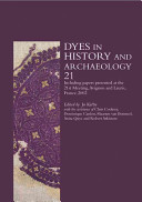Dyes in History and Archaeology PDF
