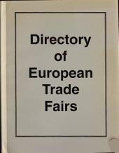 Directory of European Trade Fairs: A Key to the World for Explorers