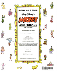 Look and Find Walt Disney s Mickey and Friends PDF
