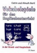 Vokabelspiele f  r den Englischunterricht in der Grund  und Hauptschule PDF