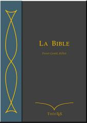Bible Perret-Gentil Rilliet
