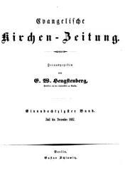 Evangelische Kirchen Zeitung PDF