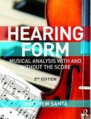 Hearing Form + Anthology