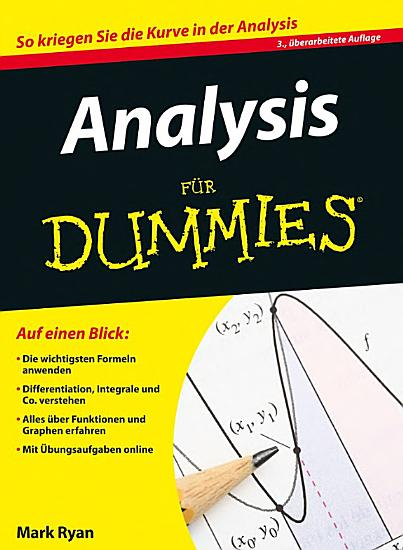 Analysis f  r Dummies PDF