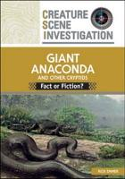 The Giant Anaconda and Other Cryptids PDF