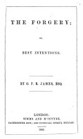 The Forgery  Or  Best Intentions PDF