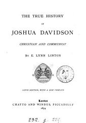 The True History of Joshua Davidson, Christian and Communist