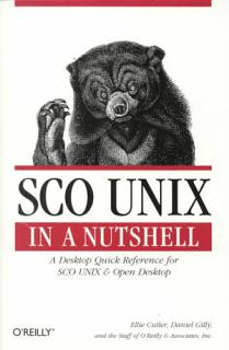 SCO UNIX in a Nutshell Book