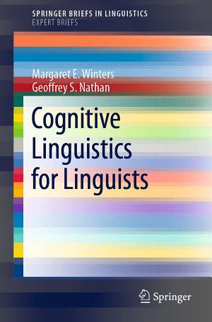 Cognitive Linguistics for Linguists
