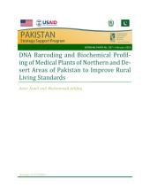 DNA barcoding and biochemical profiling of medical plants of northern and desert areas of Pakistan to improve rural living standard