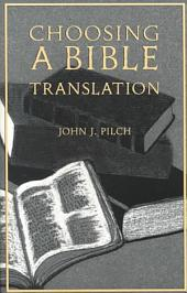 Choosing a Bible Translation