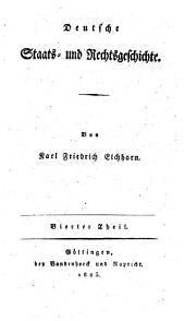 Deutsche Staats- und Rechtsgeschichte: 4