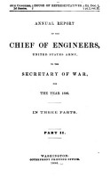 Annual Report of the Chief of Engineers  United States Army PDF