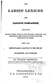 The Ladies  Lexicon and Parlour Companion PDF