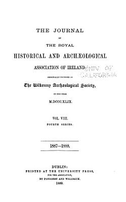 Journal of the Royal Society of Antiquaries of Ireland PDF