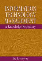 Information Technology Management PDF